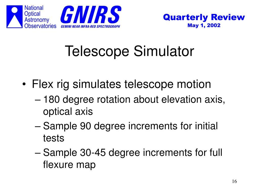 Telescope Simulator