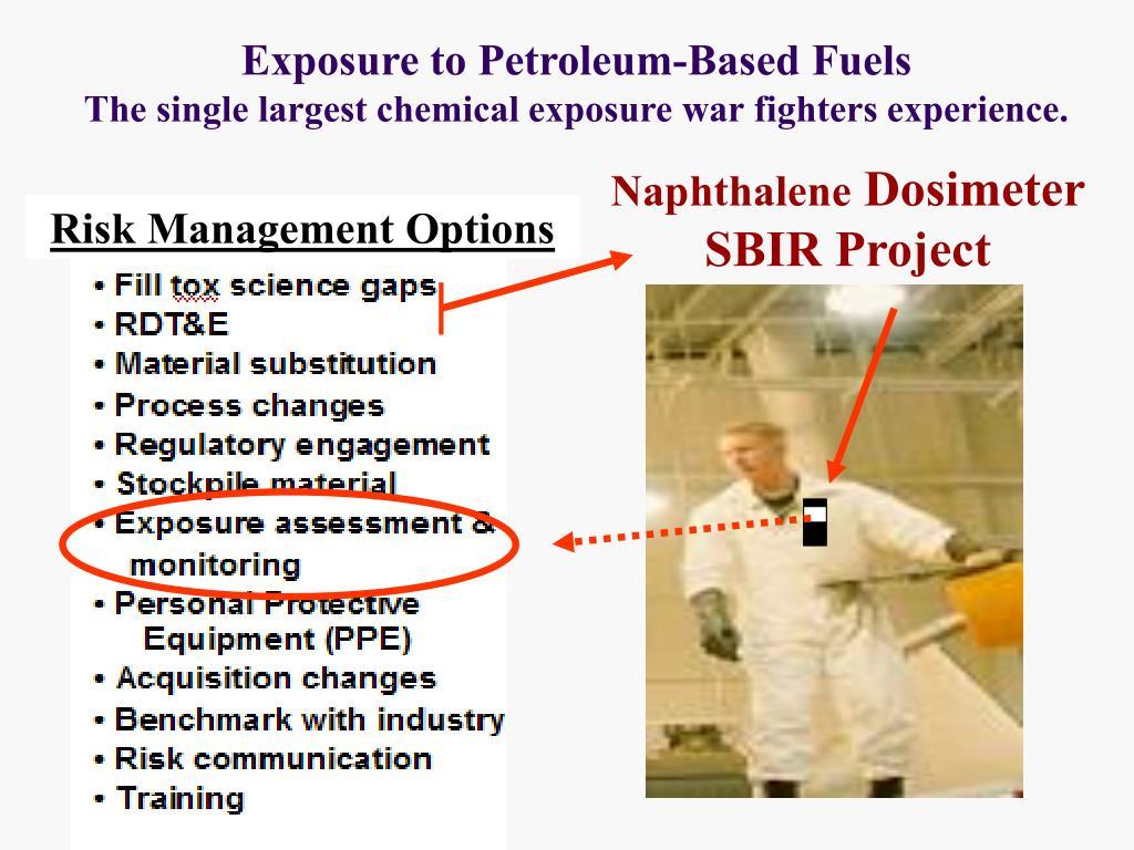Exposure to Petroleum-Based Fuels