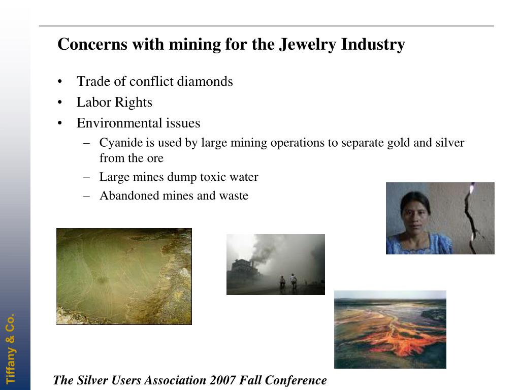 Concerns with mining for the Jewelry Industry