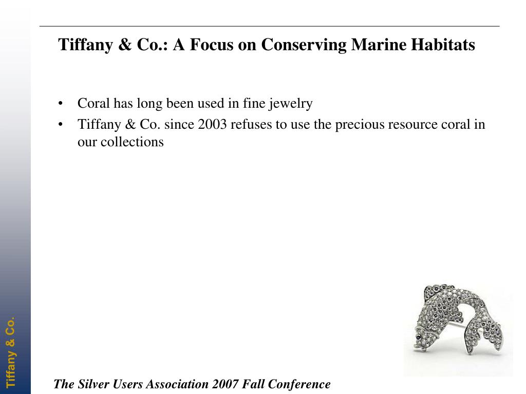 Tiffany & Co.: A Focus on Conserving Marine Habitats