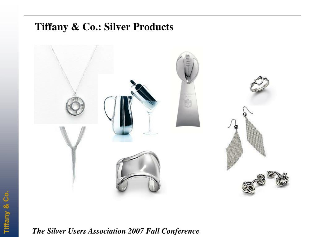 Tiffany & Co.: Silver Products