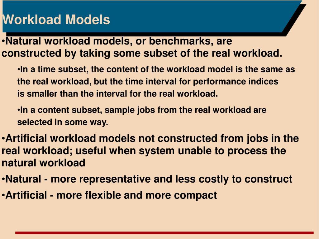 Workload Models