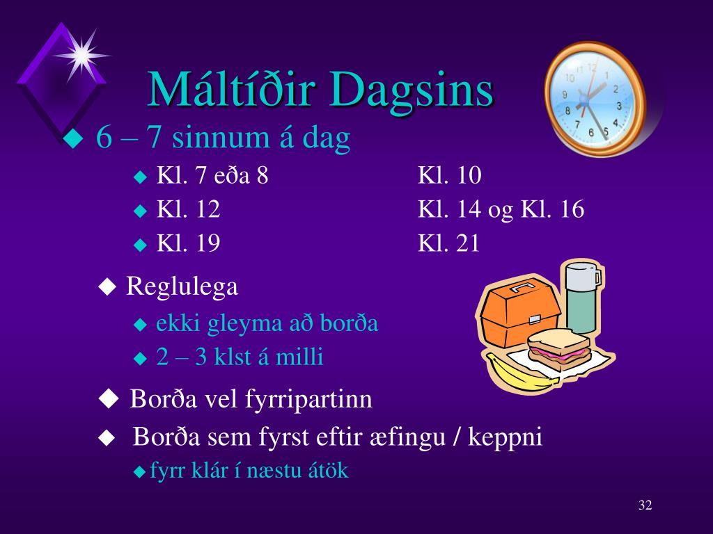 Máltíðir Dagsins