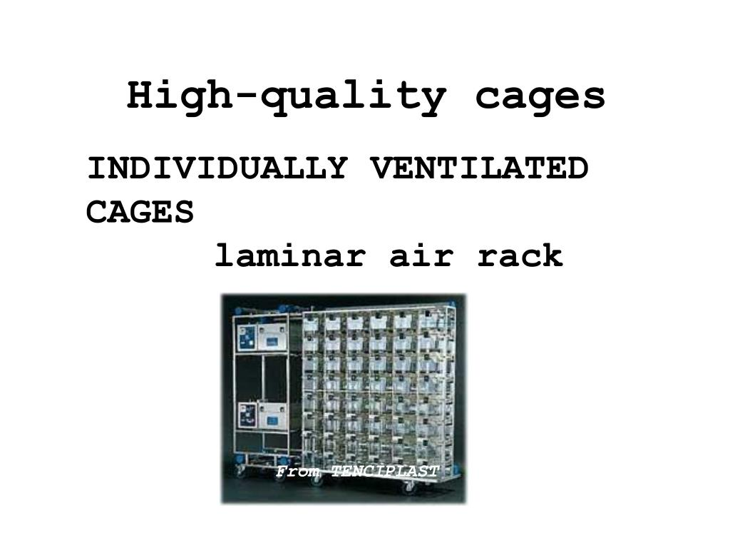High-quality cages