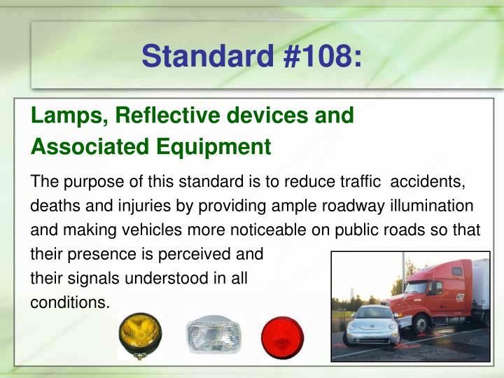 Standard #108: