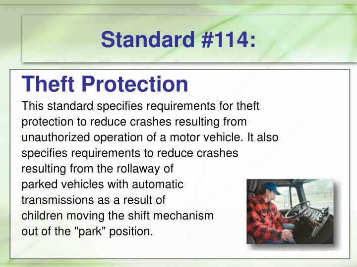 Standard #114: