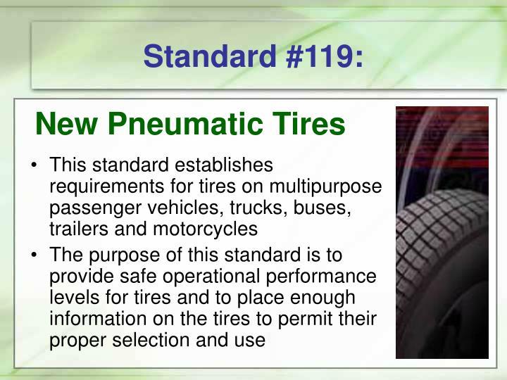 Standard #119: