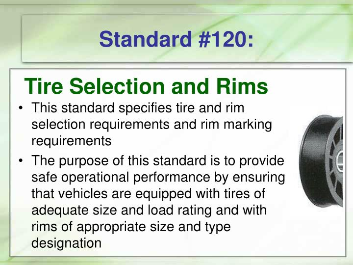 Standard #120: