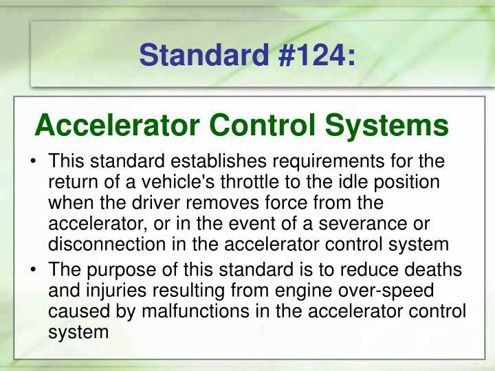 Standard #124: