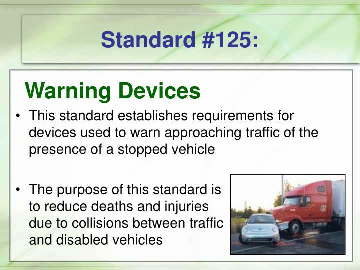Standard #125: