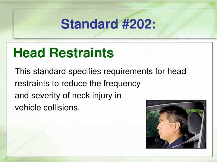 Standard #202: