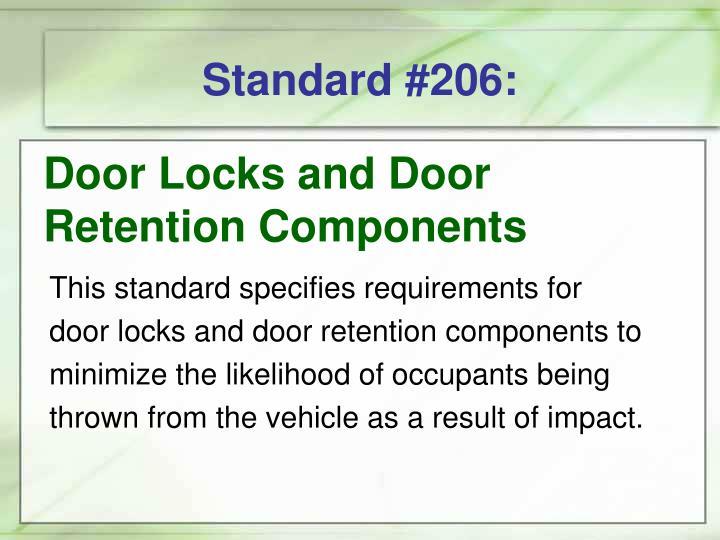 Standard #206:
