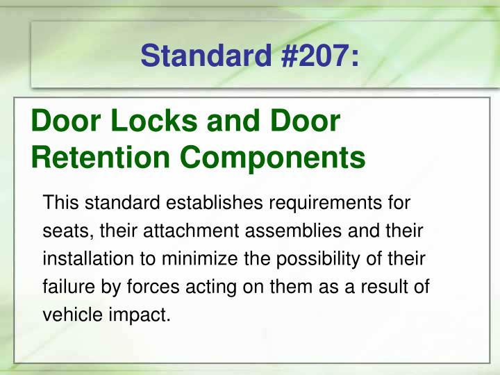 Standard #207: