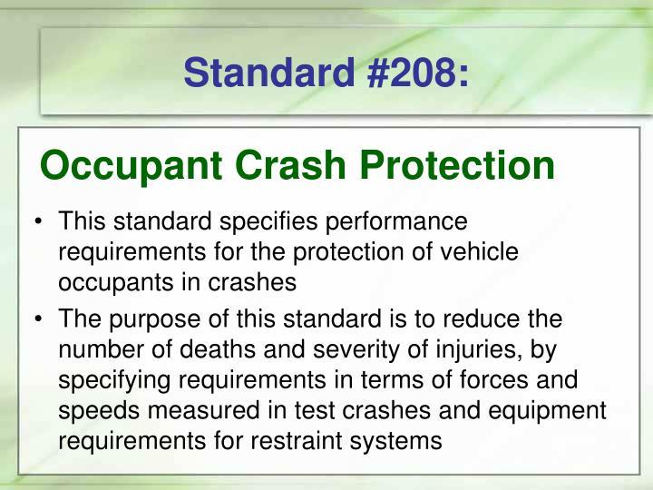 Standard #208: