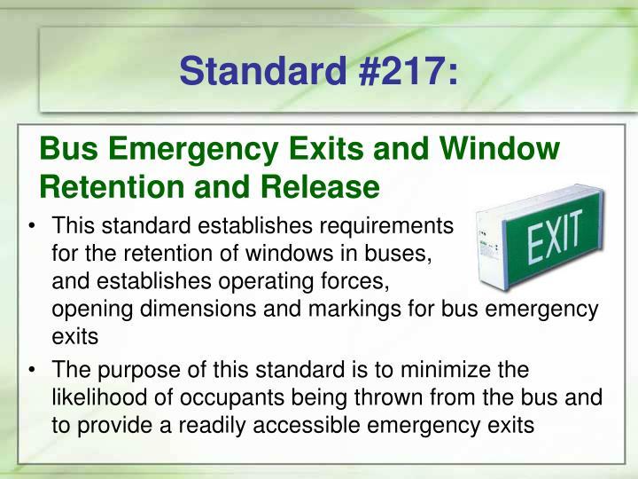 Standard #217: