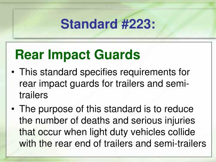 Standard #223: