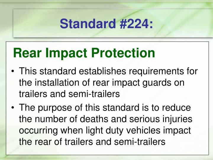 Standard #224: