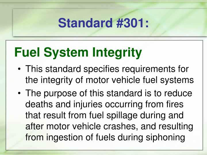 Standard #301: