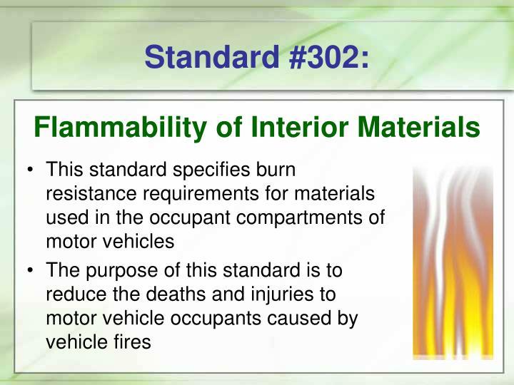 Standard #302:
