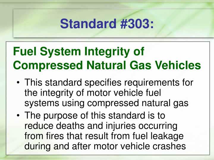 Standard #303: