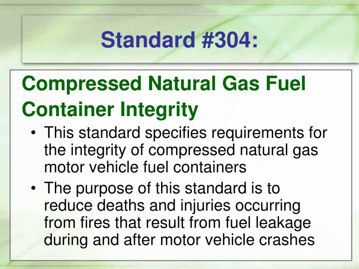 Standard #304: