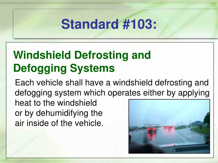 Standard #103: