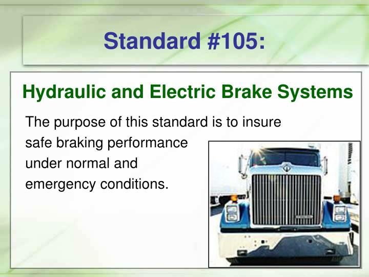 Standard #105: