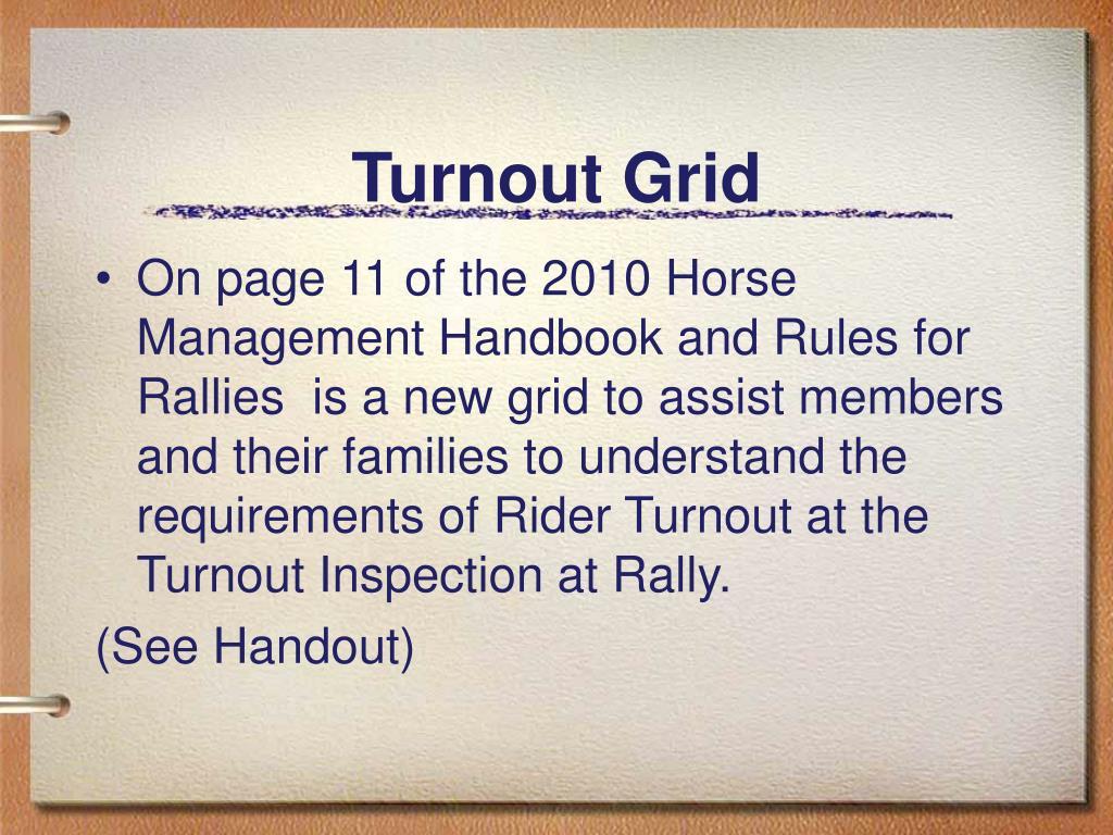 Turnout Grid
