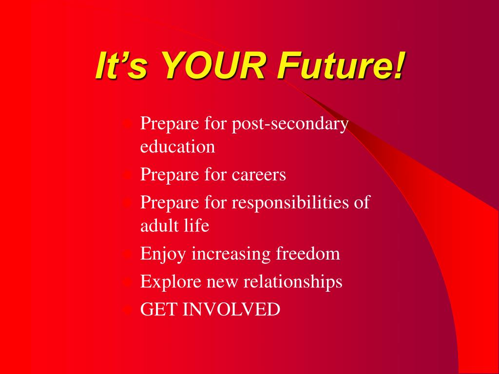 It's YOUR Future!