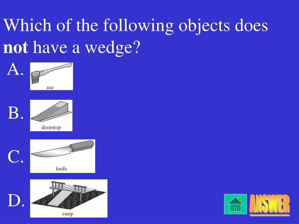 Which of the following objects does