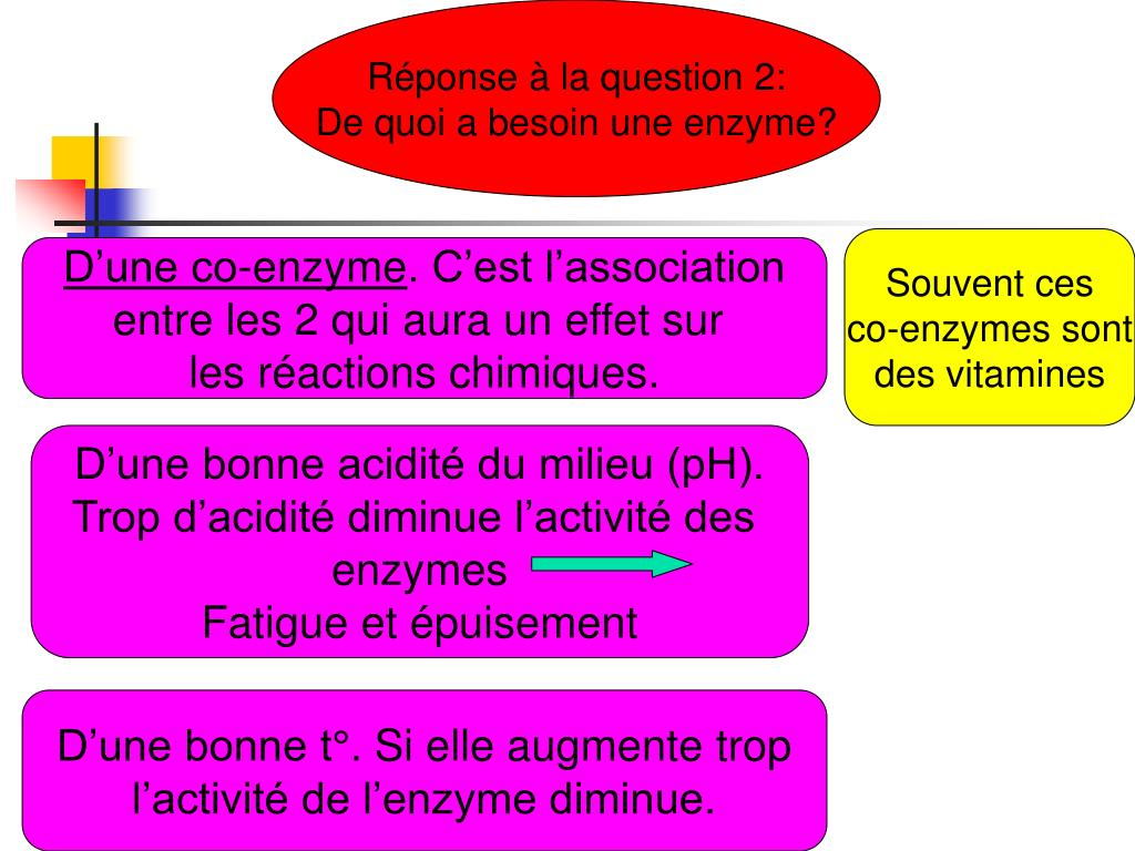 Réponse à la question 2: