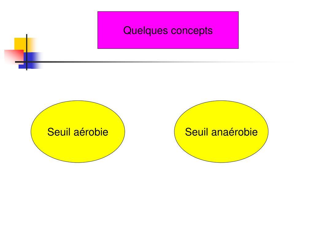 Quelques concepts