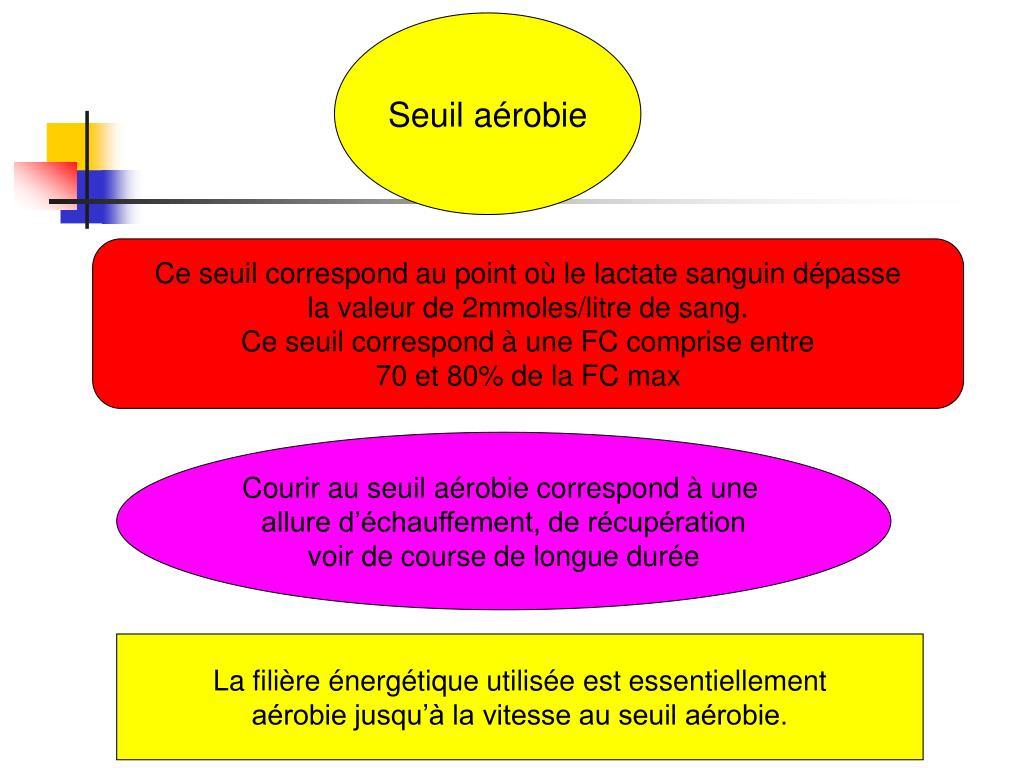 Seuil aérobie