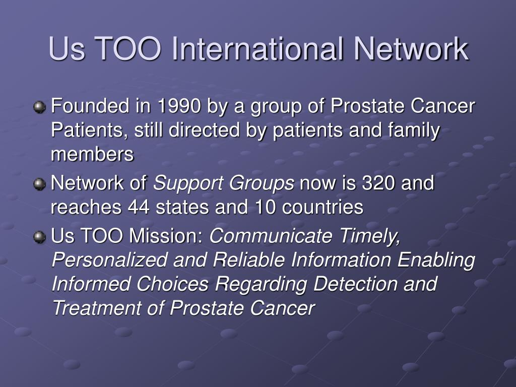 Us TOO International Network