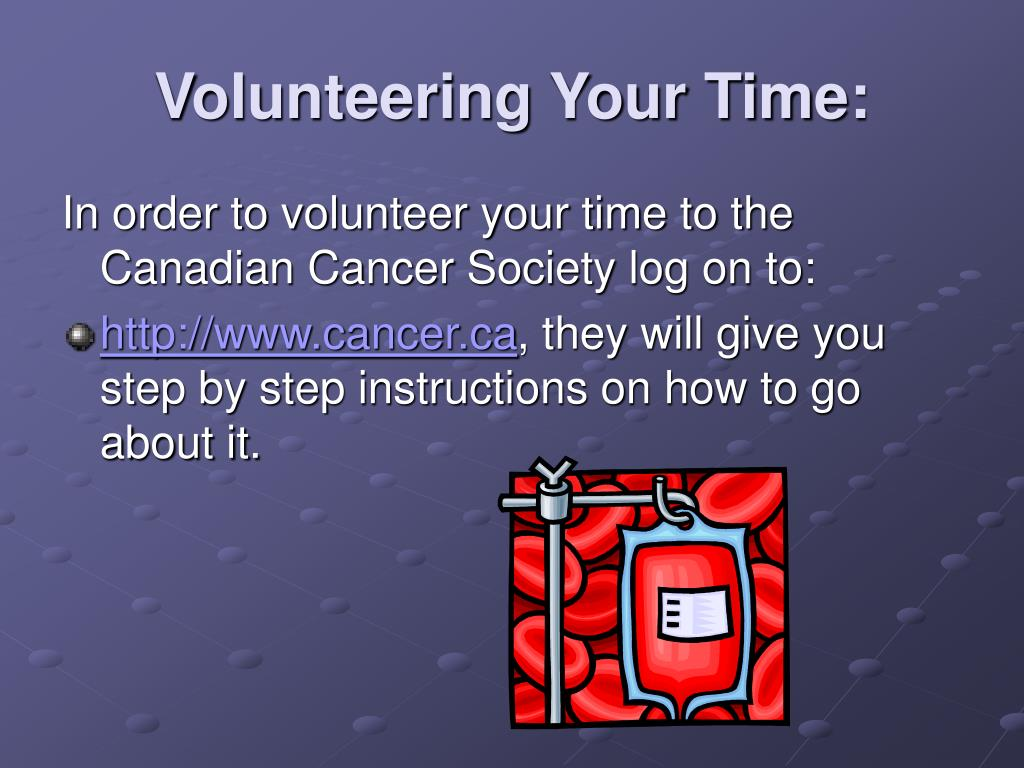 Volunteering Your Time: