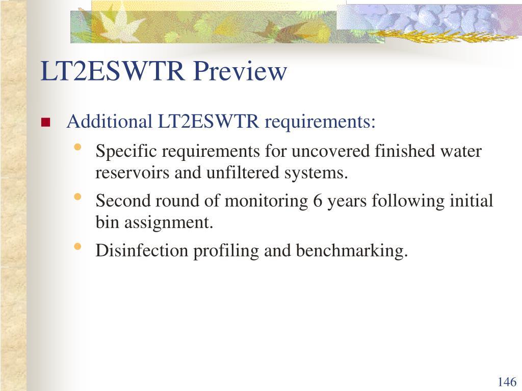 LT2ESWTR Preview