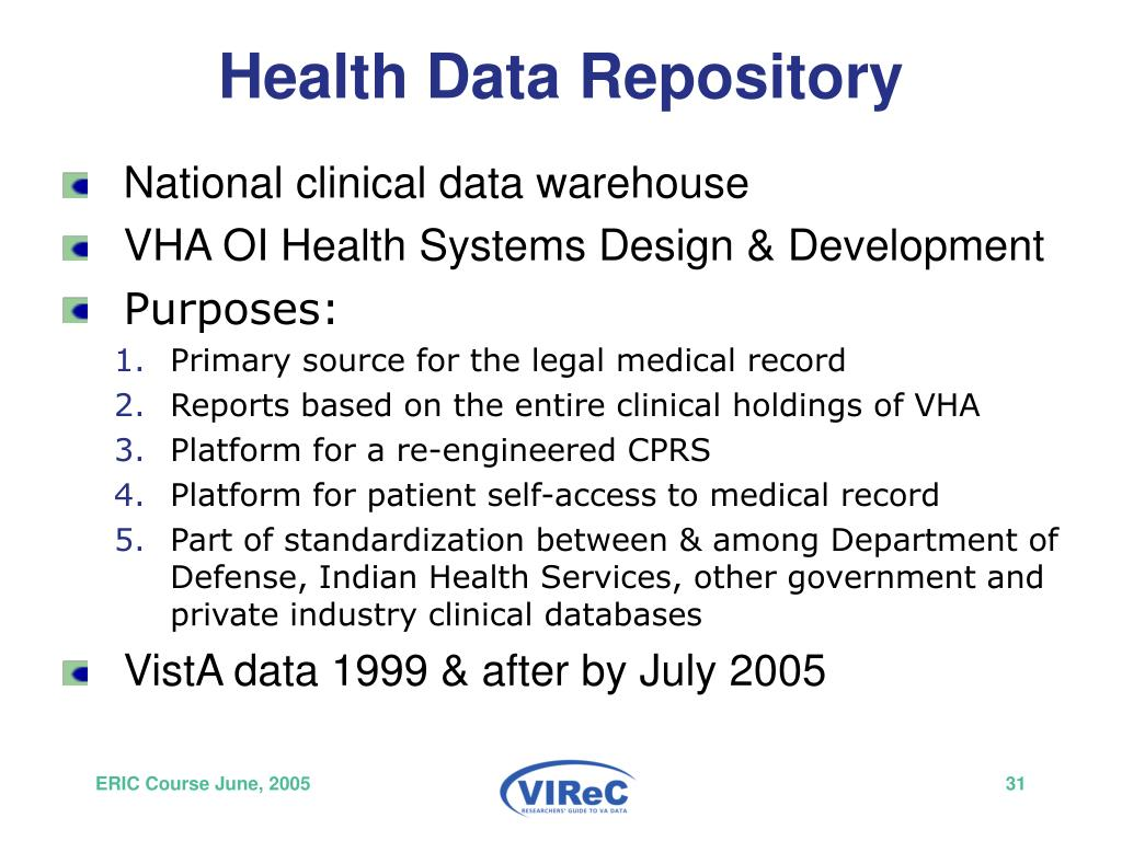Health Data Repository