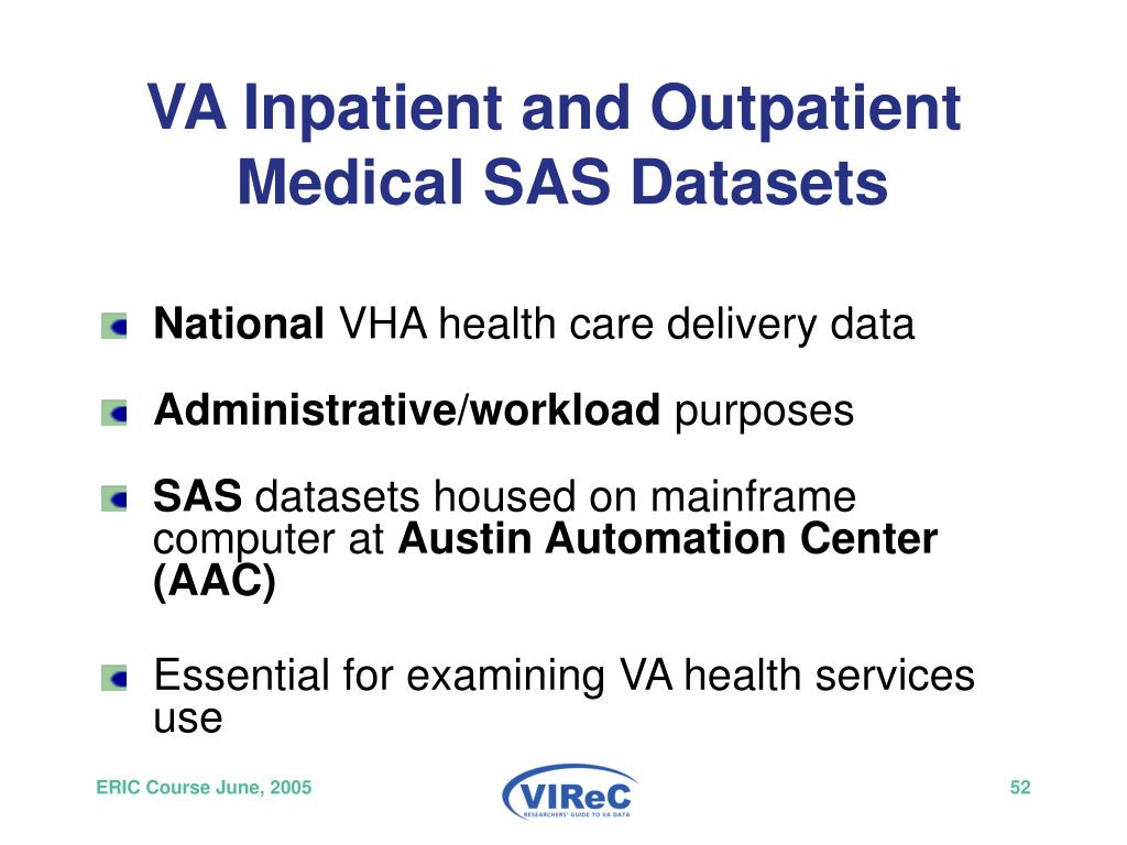 VA Inpatient and Outpatient