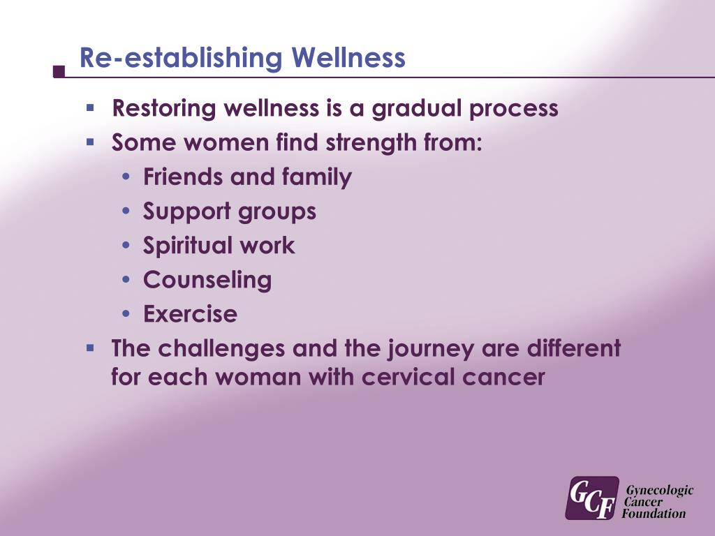 Re-establishing Wellness