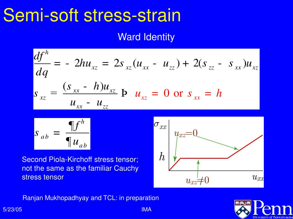 Semi-soft stress-strain