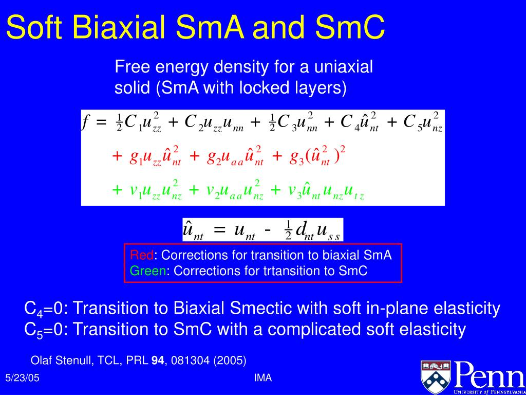 Soft Biaxial SmA and SmC