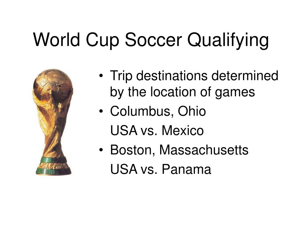 World Cup Soccer Qualifying