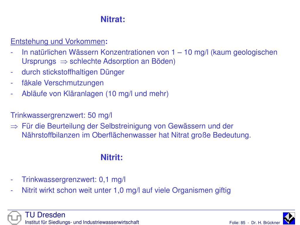 Nitrat: