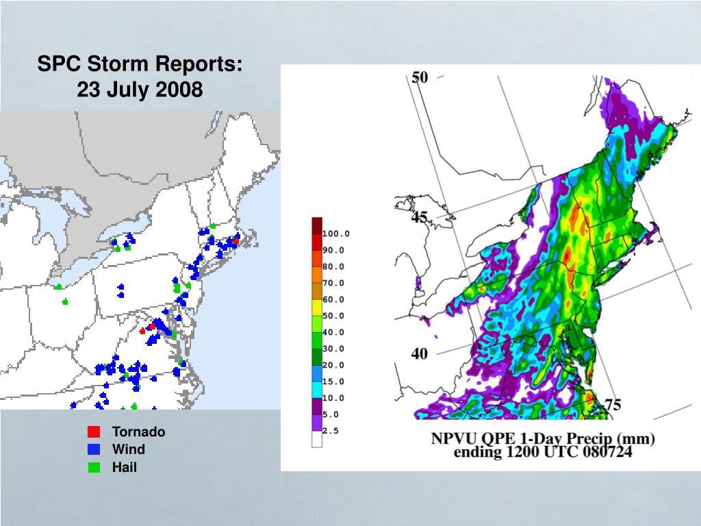 SPC Storm Reports: