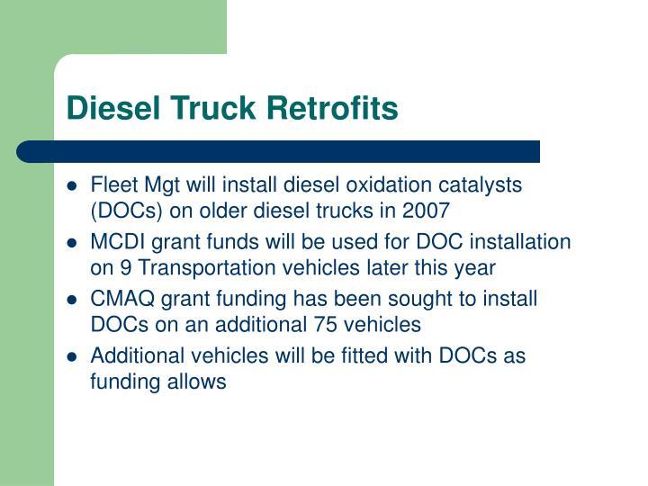 Diesel Truck Retrofits