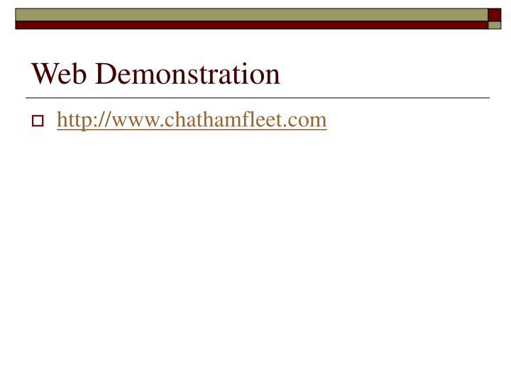 Web Demonstration