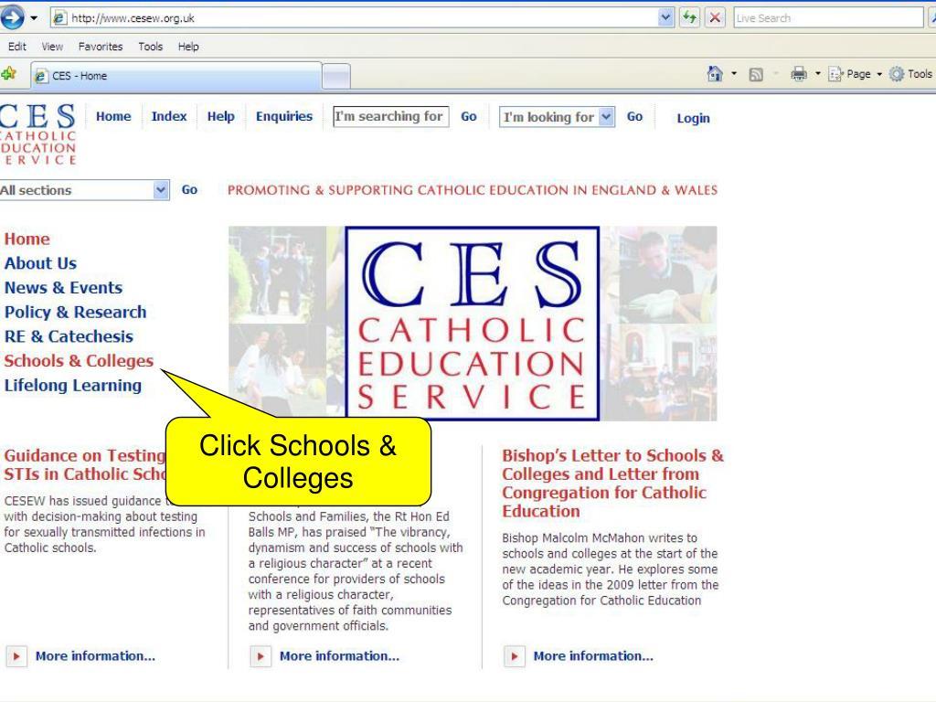 Click Schools & Colleges