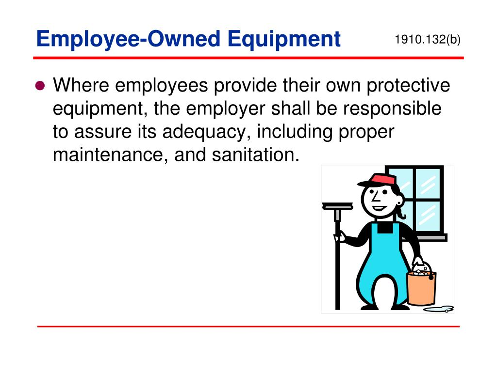 Employee-Owned Equipment