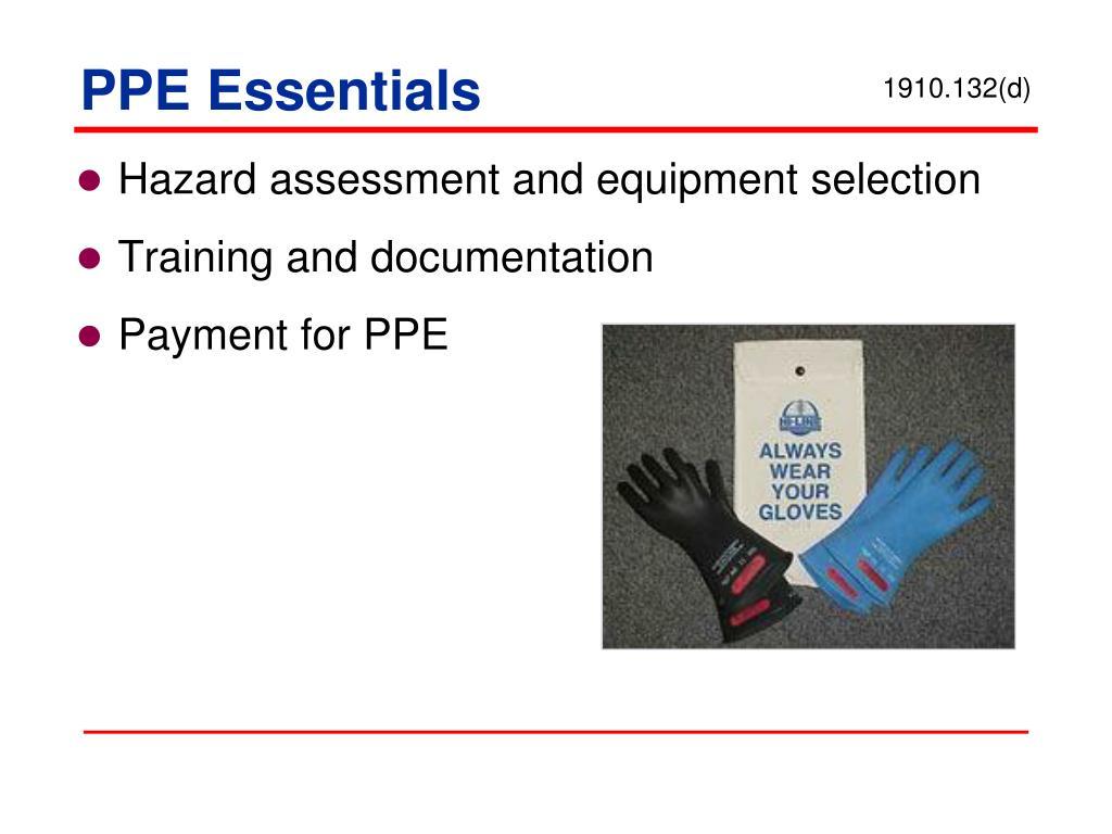 PPE Essentials