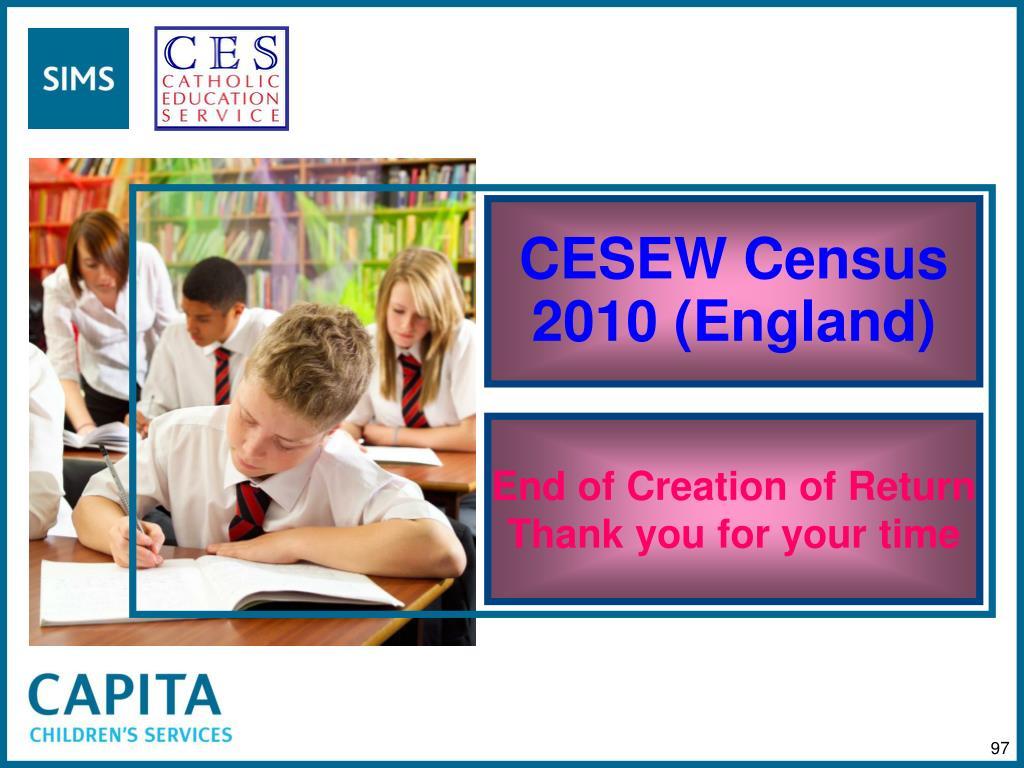 CESEW Census